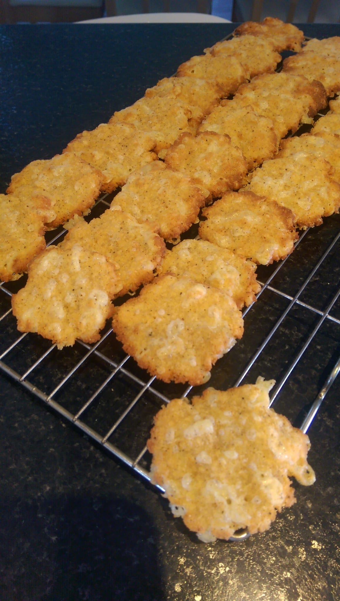Savoury Cheese Crackers
