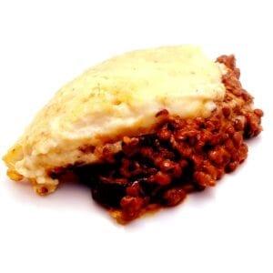 dairy free lentil mousakka