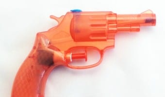 Hearing restored thanks to a….water pistol!
