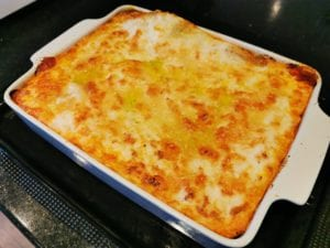 Whole lasagne
