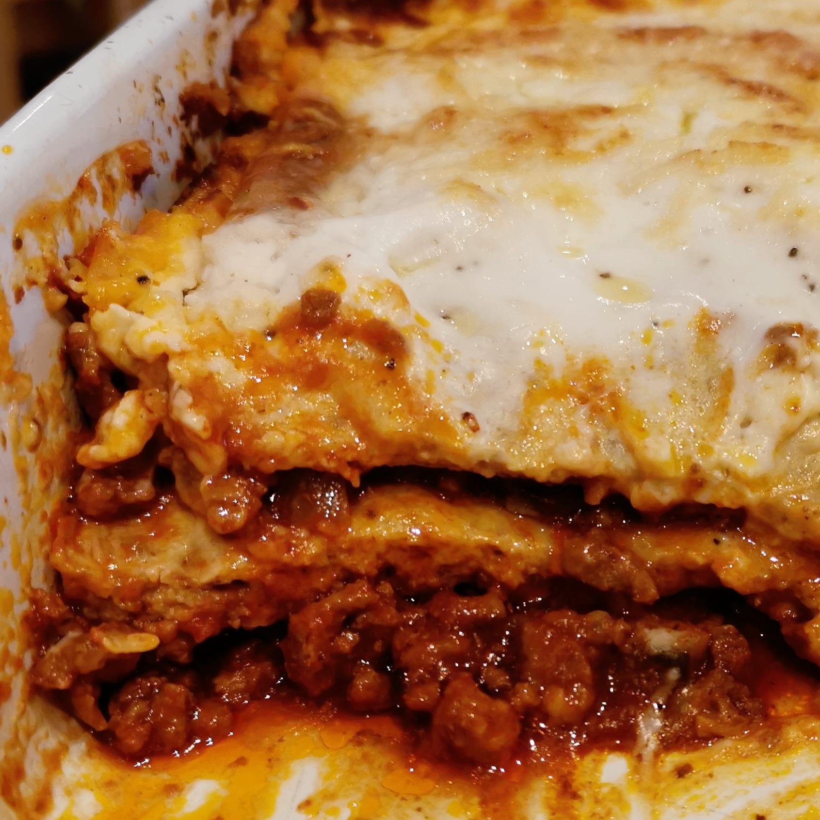No Pasta Lasagne