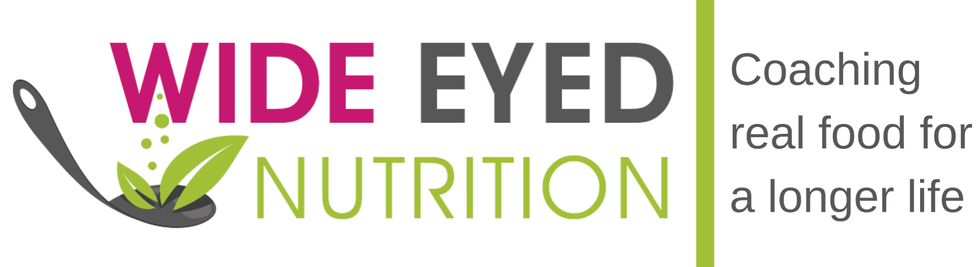 Wide Eyed Nutrition Coaching real food for a longer life