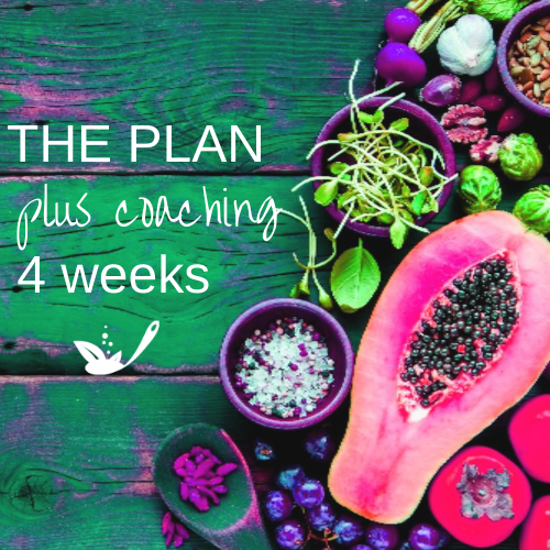 the plan plus coaching 4 weeks with green wood and bright fruit