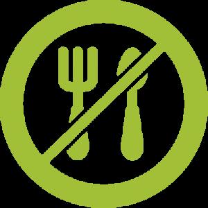 fasting logo green